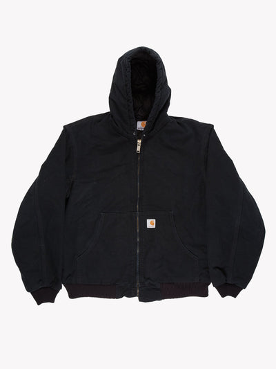 Carhartt Jacket with Hood Black Size XL