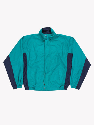 Christian Dior Windbreaker Jacket Green/Blue Size XL