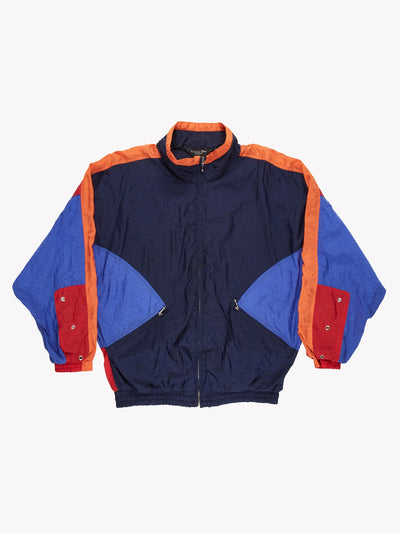 Christian Dior Windbreaker Jacket Blue/Orange Size Large