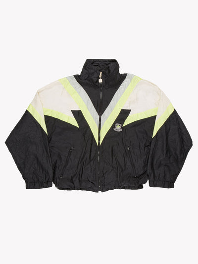 Givenchy Activewear Windbreaker Jacket Black/Green/White Size XL