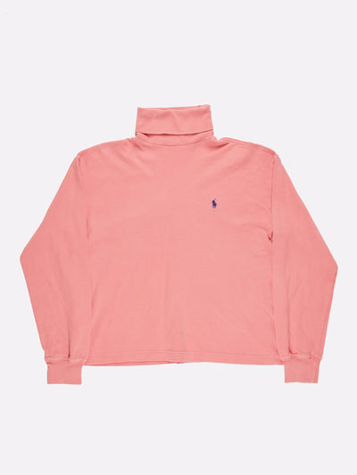 Ralph Lauren Roll Neck Pink Size Medium