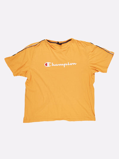 Champion T-Shirt Yellow/White Size XXL