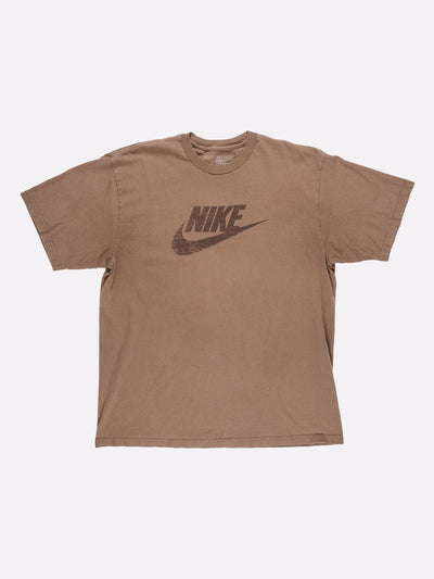 Nike T-Shirt Brown Size Medium