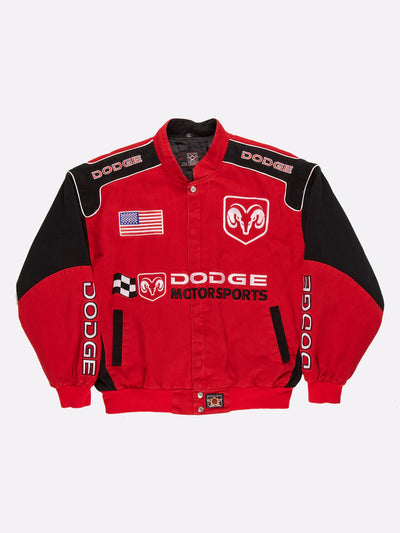 Dodge Motorsports Racing Jacket Red/Black Size XL