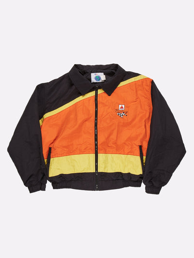 CITGO Racing Jacket Black/Orange/Yellow Size XL