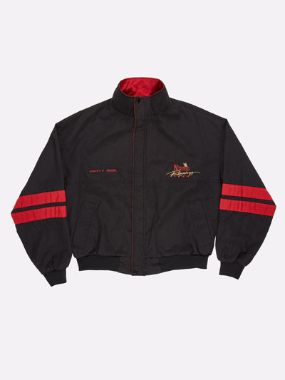 Winston Racing Team Jacket Black/Red/Gold Size XL