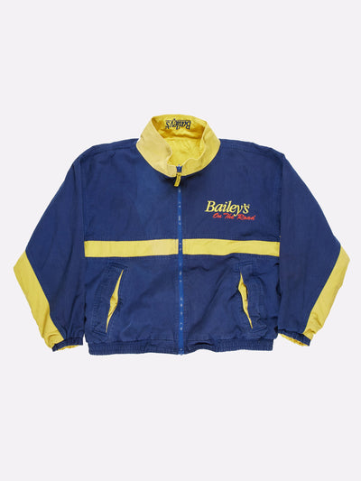 Bailey's Wear On the Road Reversible Jacket Blue/Yellow Size XL