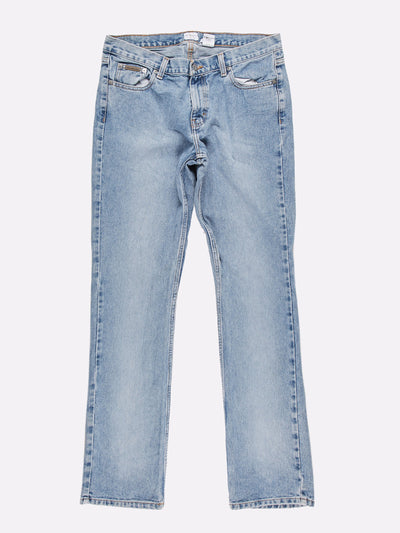 Calvin Klein Low Rise Bootcut Jeans Light Blue Size 30x33