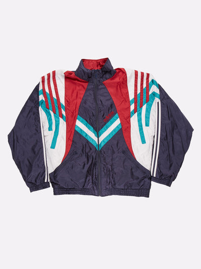 Adidas Shell Jacket Navy/White/Red Size XL