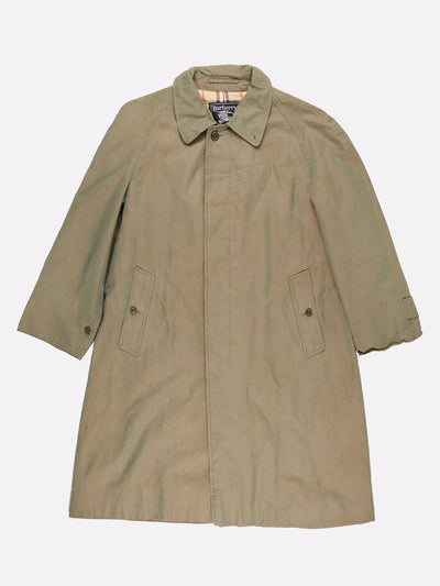 Burberry Mac Jacket Green Size Medium