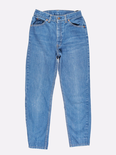 Levi's High Waisted Jeans Blue Size 26x26