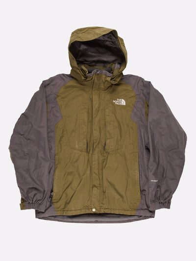 The North Face Jacket Green/Grey Size Large