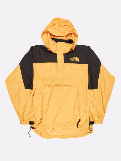 The North Face Pull Over Jacket Yellow/Black Size Small