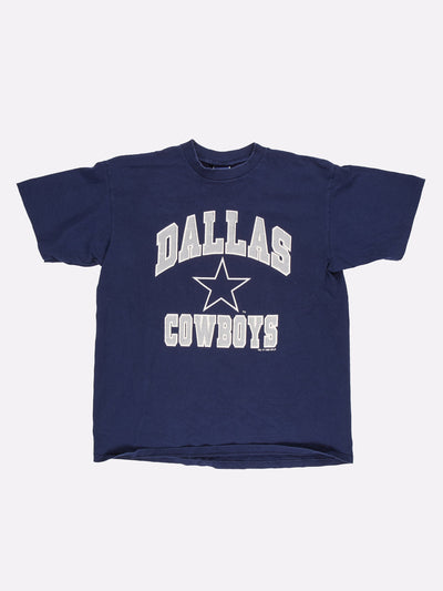 NFL Dallas Cowboys T-Shirt Navy/Grey/White Size XL
