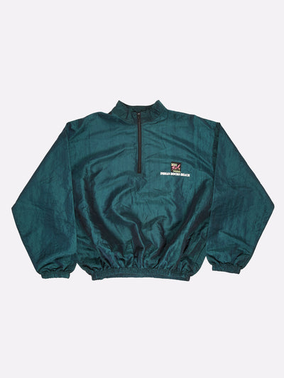 Surfstyle Indiana Rocks Beach Windbreaker Dark Green Size 2XL