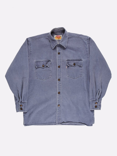 Levi's Denim Shirt Blue Size Large