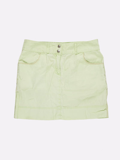 Tommy Hilfiger 00s Style Mini Skirt Green Size Medium
