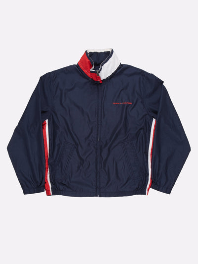 Tommy Hilfiger Jacket Navy/Red/White Size Large