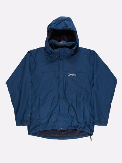 Berghaus AQ2 Jacket Blue Size Large