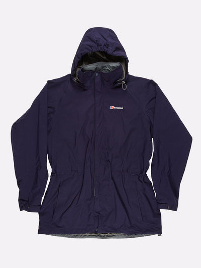 Berghaus AQ2 Jacket with Elasticated Waist Blue Size XL