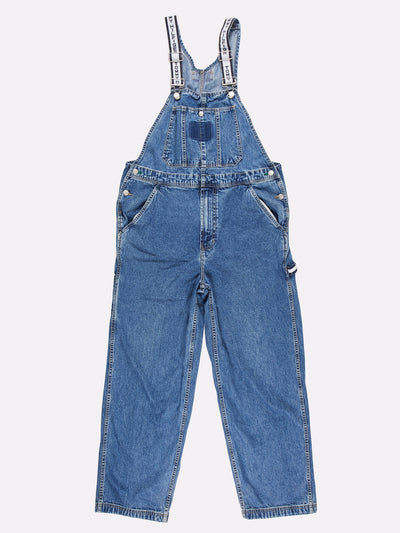 Tommy Hilfiger Denim Dungarees Blue Size Medium