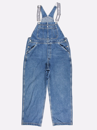Tommy Hilfiger Denim Dungarees Blue Size Large