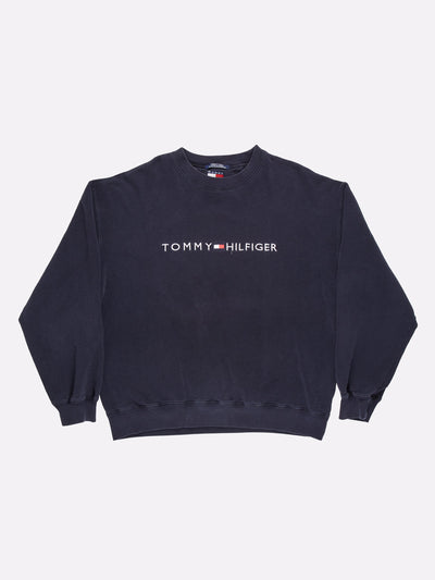 Tommy Hilfiger Sweatshirt Navy/White/Red Size 2XL