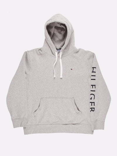 Tommy Hilfiger Hoodie Grey/Navy/White Size XL
