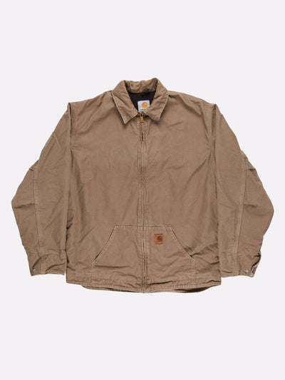 Carhartt Jacket Brown Size Large