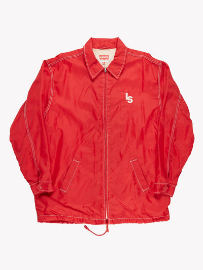Levi's Jacket Red/White Size Large