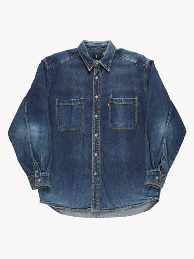 Levi's Denim Shirt Blue Size Medium