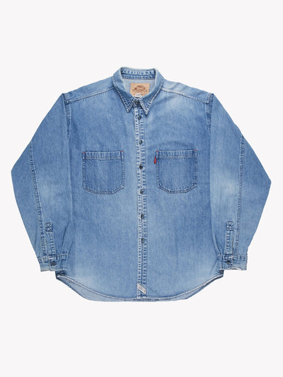 Levi's Denim Shirt Blue Size XL