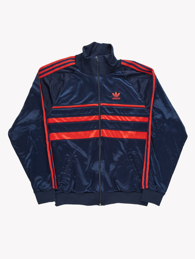 Adidas Track Jacket Blue/Red Size XL