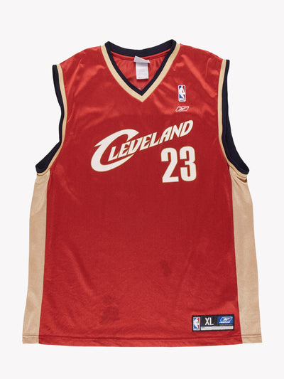 Reebok American Sports Basketball Vest Red/Gold/White Size XL