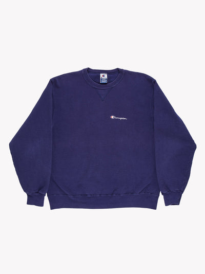 Champion Sweatshirt Blue Size XL