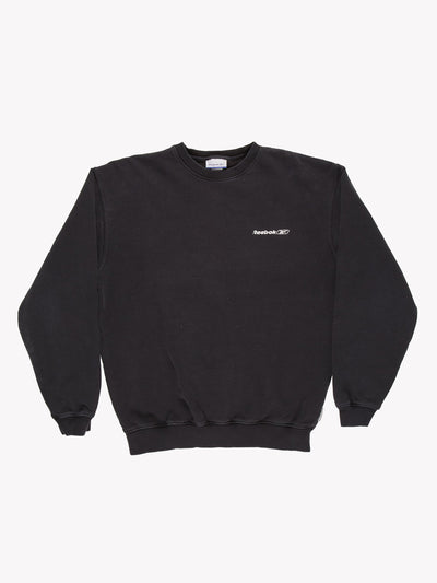 Reebok Sweatshirt Black Size Small