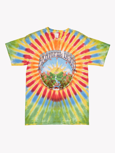 Vintage Grateful Dead Tie Dye T-Shirt Multicolour Size Medium