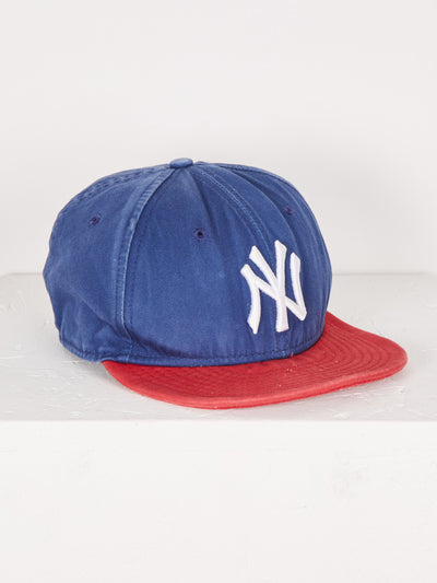 New York Yankees Cap Blue/Red/White One Size