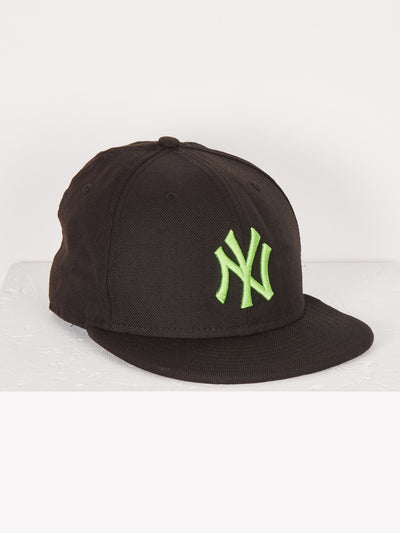 New York Yankees MLB Cap Black/Green Size Small
