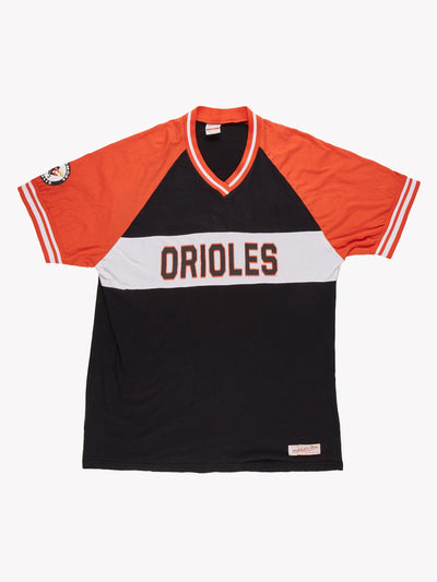 Baltimore Orioles MLB T-Shirt Black/Orange Size XXL