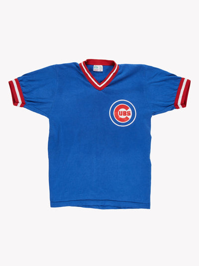 Chicago Cubs MLB T-Shirt Blue/Red Size Small