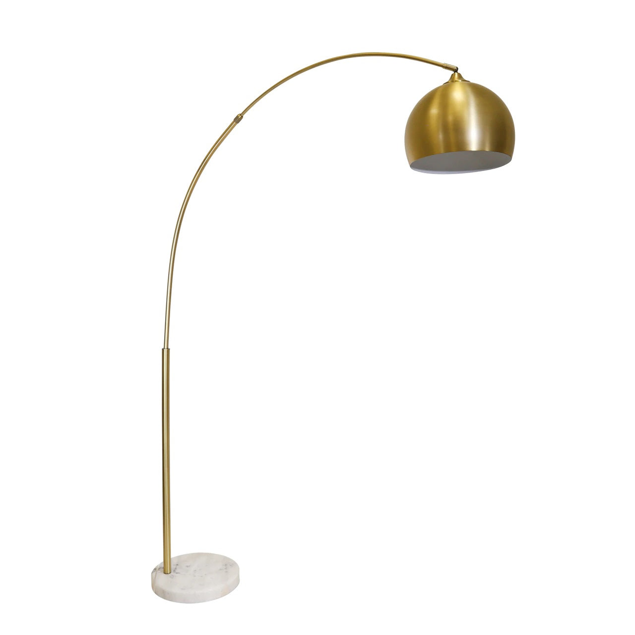 Gold Arch Floor Lamp 77""