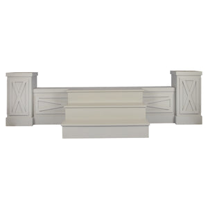 Dixon Stage Surround, Columns & Stairs