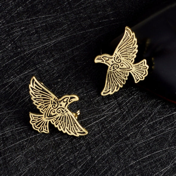 Viking Raven Pin