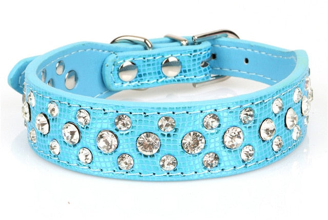 Small Dogs Collars Rhinestone Puppy Accessories Product For Pet Accessories Necklace Cat-Collar Supplies collier pour chien
