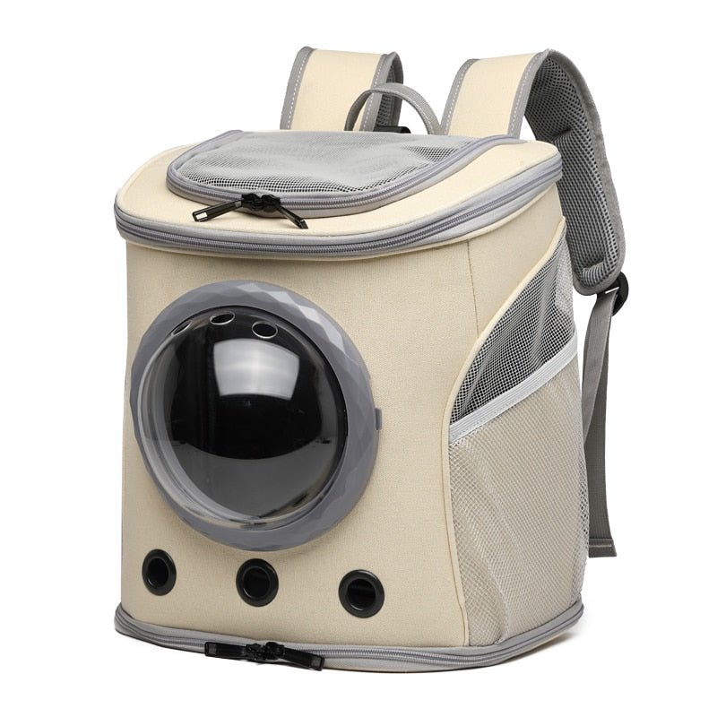 Pet Capsule Window Backpack for Easy Travel
