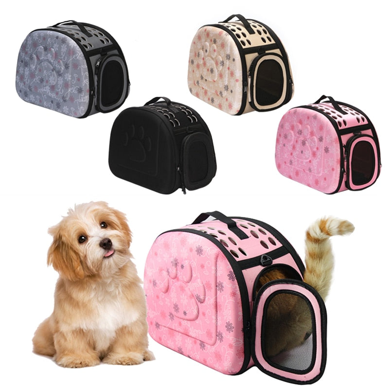 Pet Travel Portable Handbag Carrier with Mesh front
