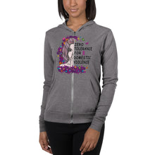 Load image into Gallery viewer, Zero Tolerance Unisex zip hoodie