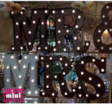 Metal Marquee Words 35cm high