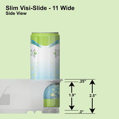 Slim Visi-Slide® 11 wide Shelf Glide